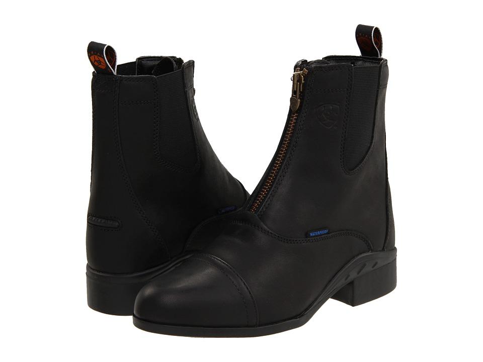 Ariat Heritage III Zip Paddock H20 (Black) Women