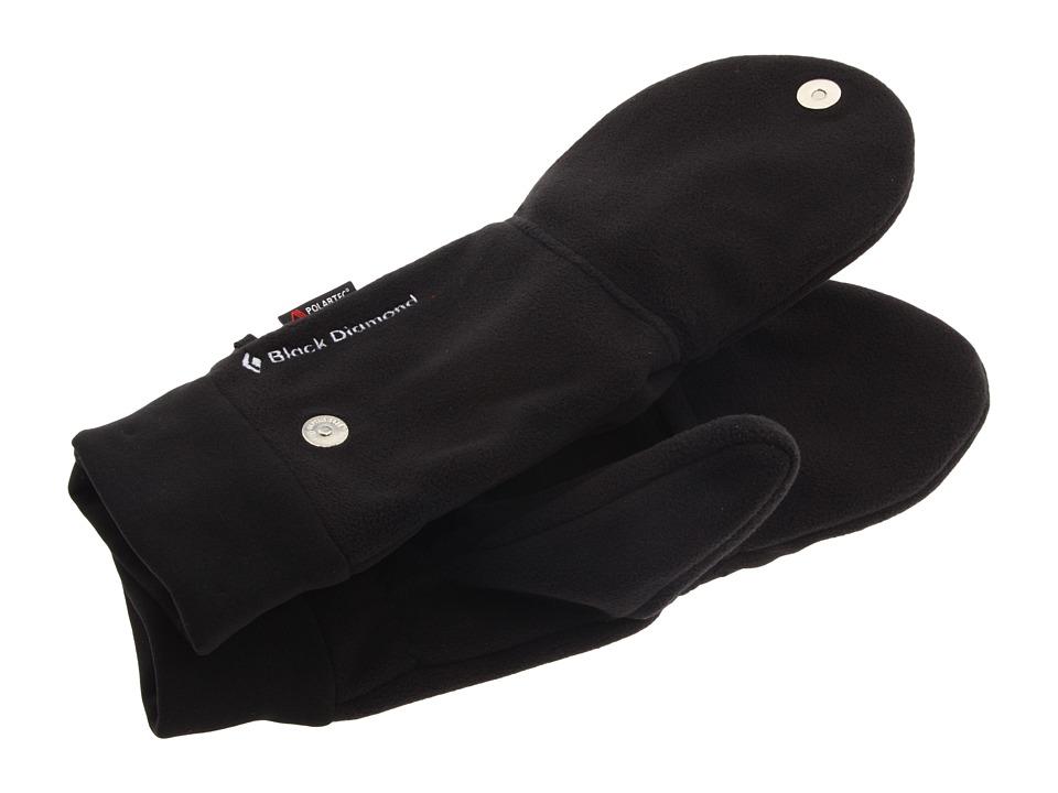 Black Diamond WindWeight Mitt (Black) Extreme Cold Weather Gloves