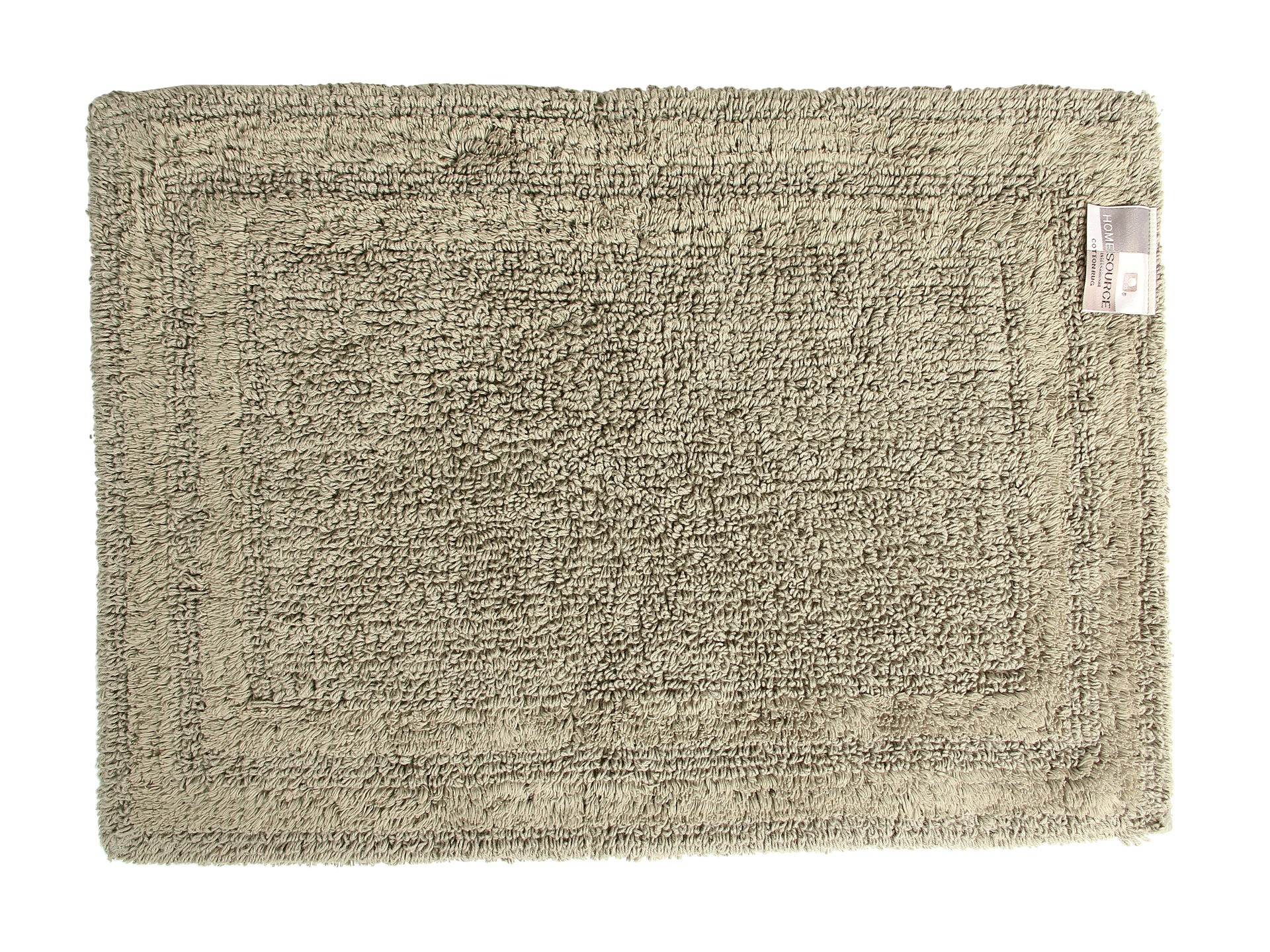 Home source international reversible cotton bath rug small for International decor bathroom rugs