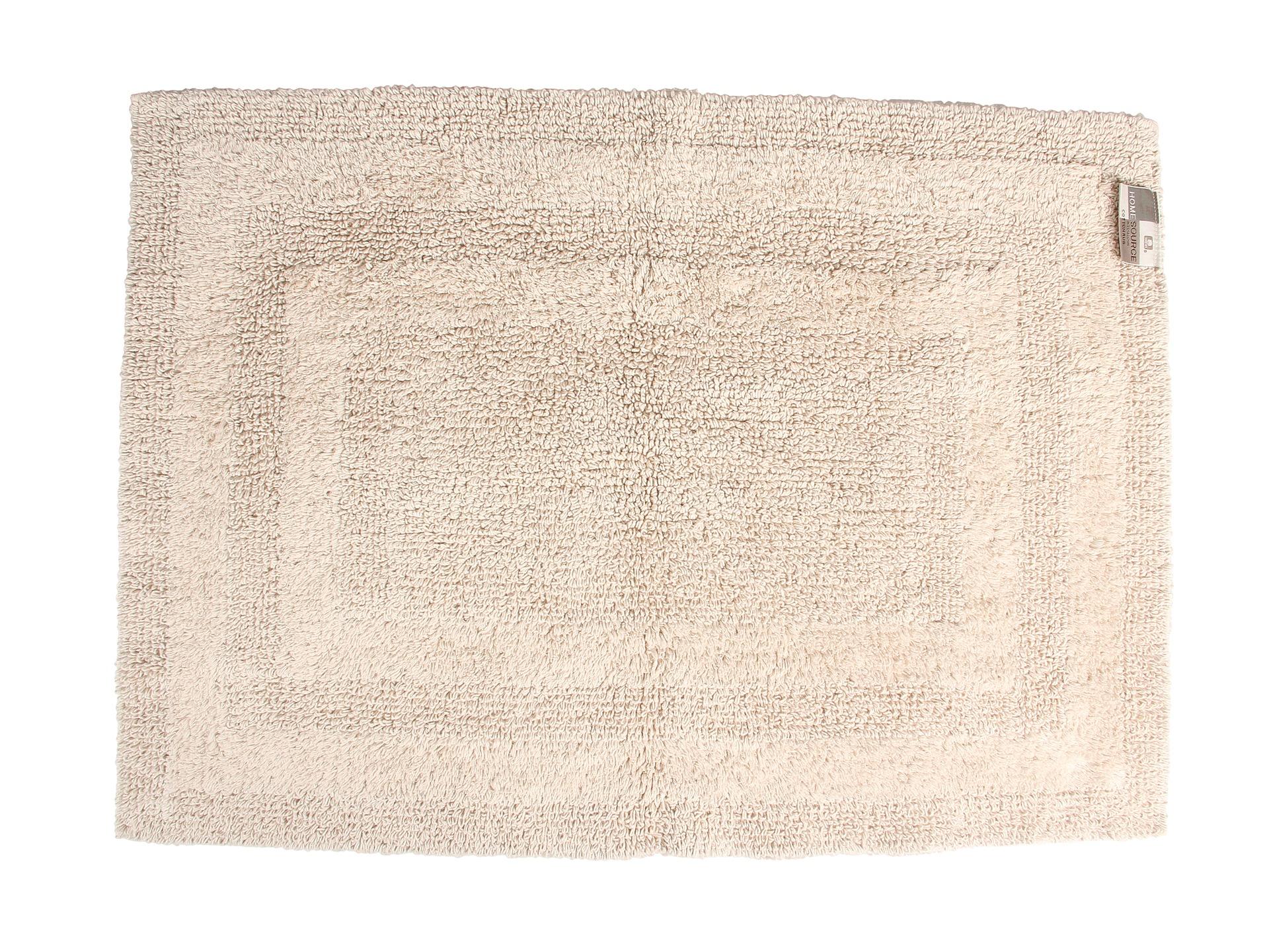 Home source international reversible cotton bath rug large for International decor bath rugs