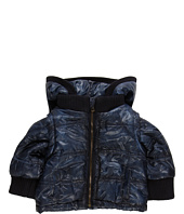D&G Junior - Hooded Down Jacket With Logo (Infant)