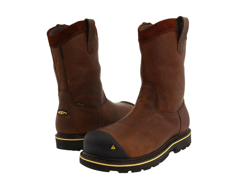 Keen Utility - Dallas Wellington (Dark Brown) Mens Work Boots