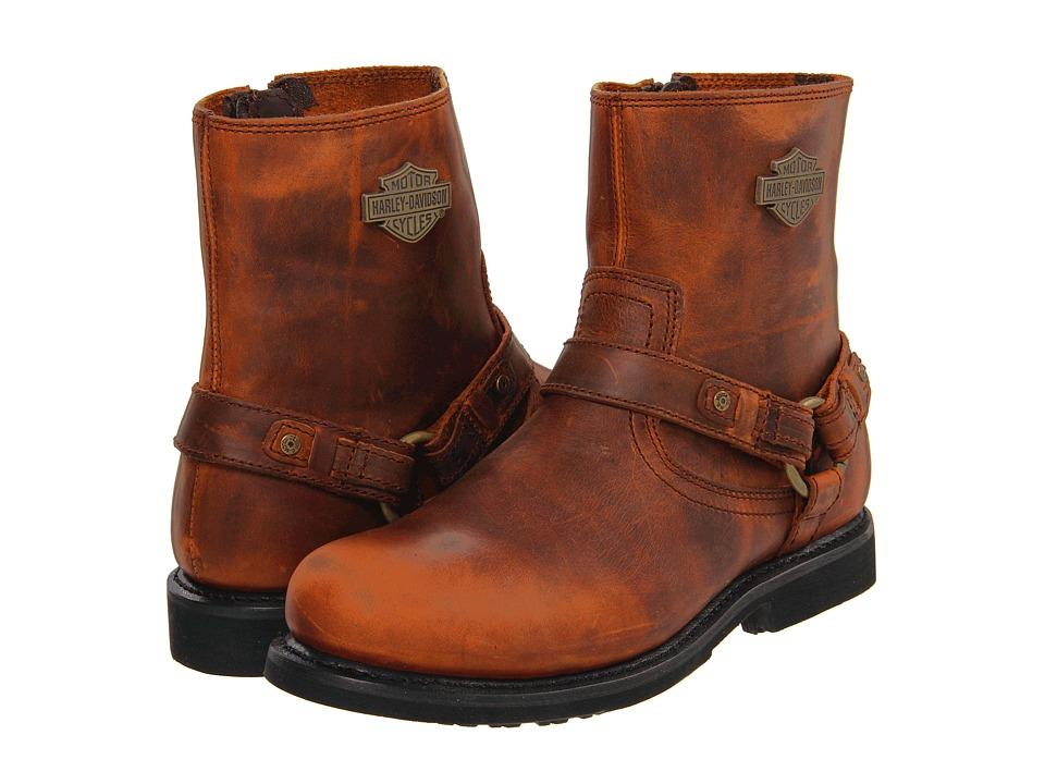 Harley Davidson Scout (Brown) Men's Boots