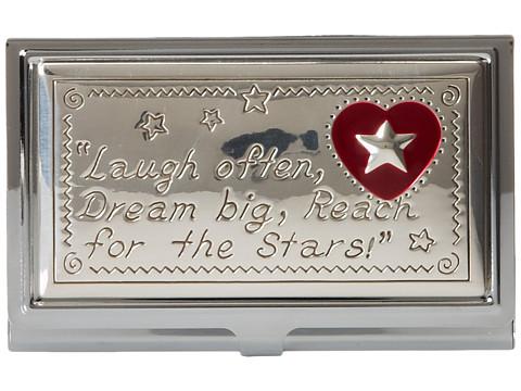 Brighton Joyful Heart Cardcase - Silver/Enamel