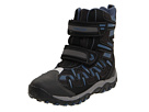Geox Kids - Alaska WPF 7 (Toddler/Youth) (Black/Sky) - Footwear