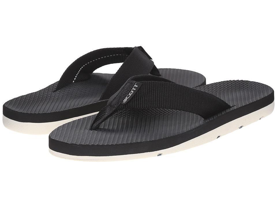 Scott Hawaii - Hokulea (Black) Mens Sandals