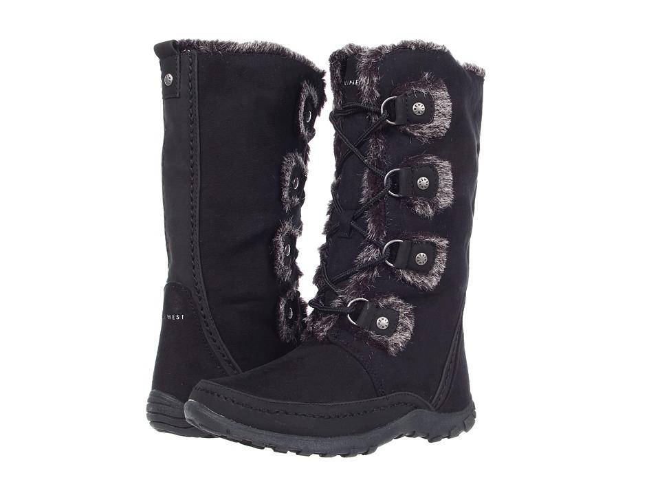 Nine West Kids Daffodill Little Kid/Big Kid Black Girls Shoes