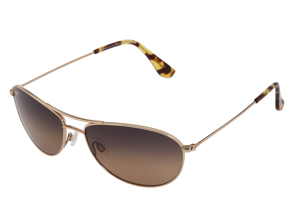 Maui Jim - Baby Beach (Gold/HCL Bronze Lens) Sport Sunglasses