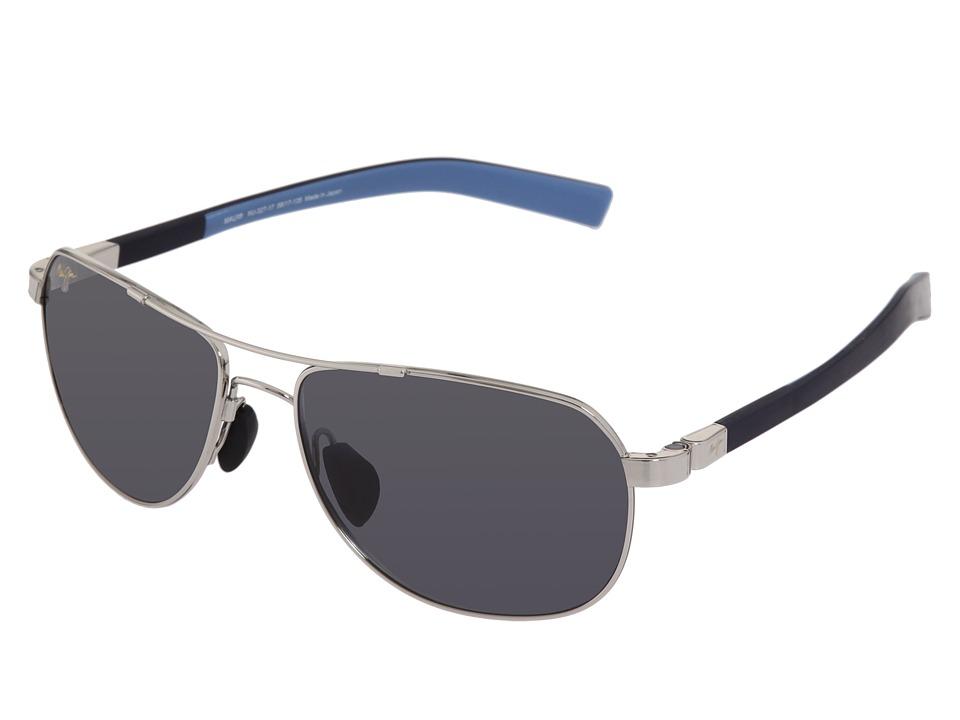 Maui Jim Guardrails (Silver/Blue/Neutral Grey Lens) Sport Sunglasses