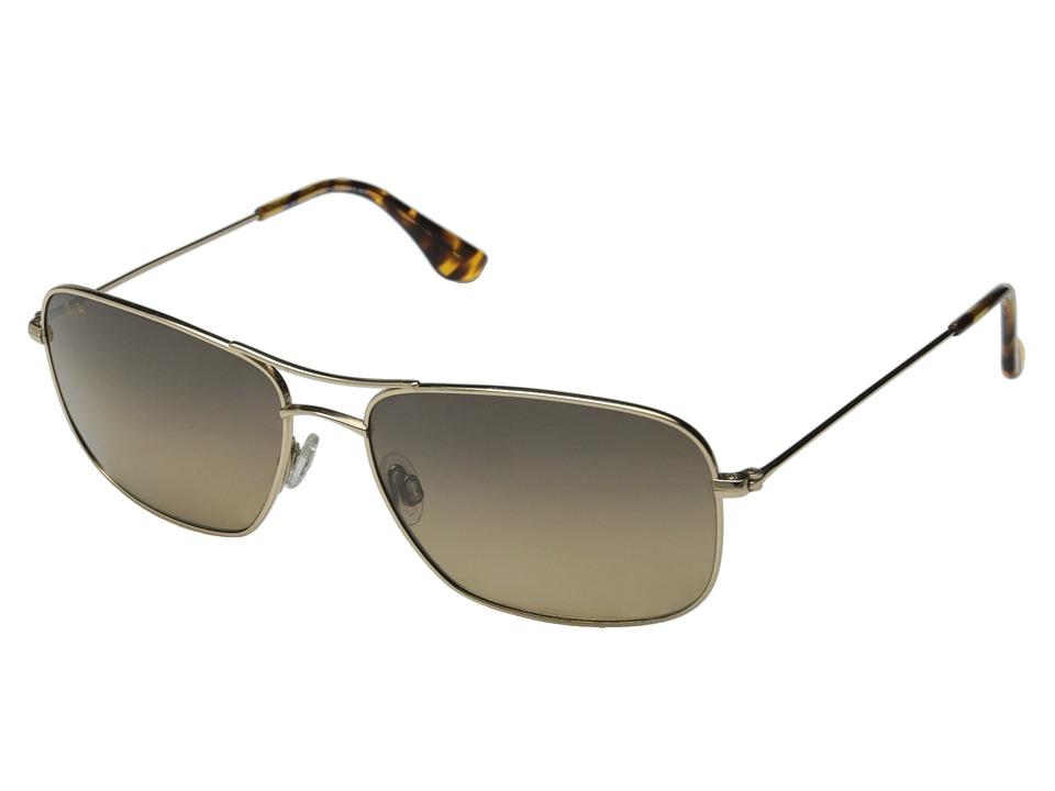 Maui Jim - Wiki Wiki (Gold/HCL Bronze Lens) Sport Sunglasses