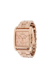 Michael Kors - Square Quartz Day Date Chronograph Link Bracelet Watch MK5488