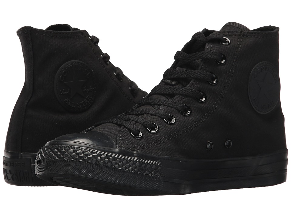 Converse Chuck Taylor All Star Core Hi Monochrome Black Classic Shoes