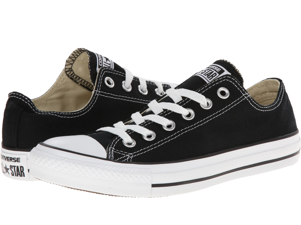 Converse Chuck Taylor All Star Core Ox Black Mens Classic Shoes