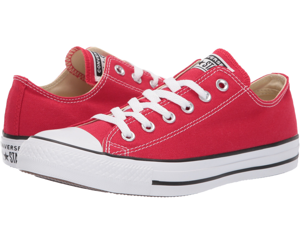 Converse Chuck Taylor(r) All Star(r) Core Ox (Red) Classi...