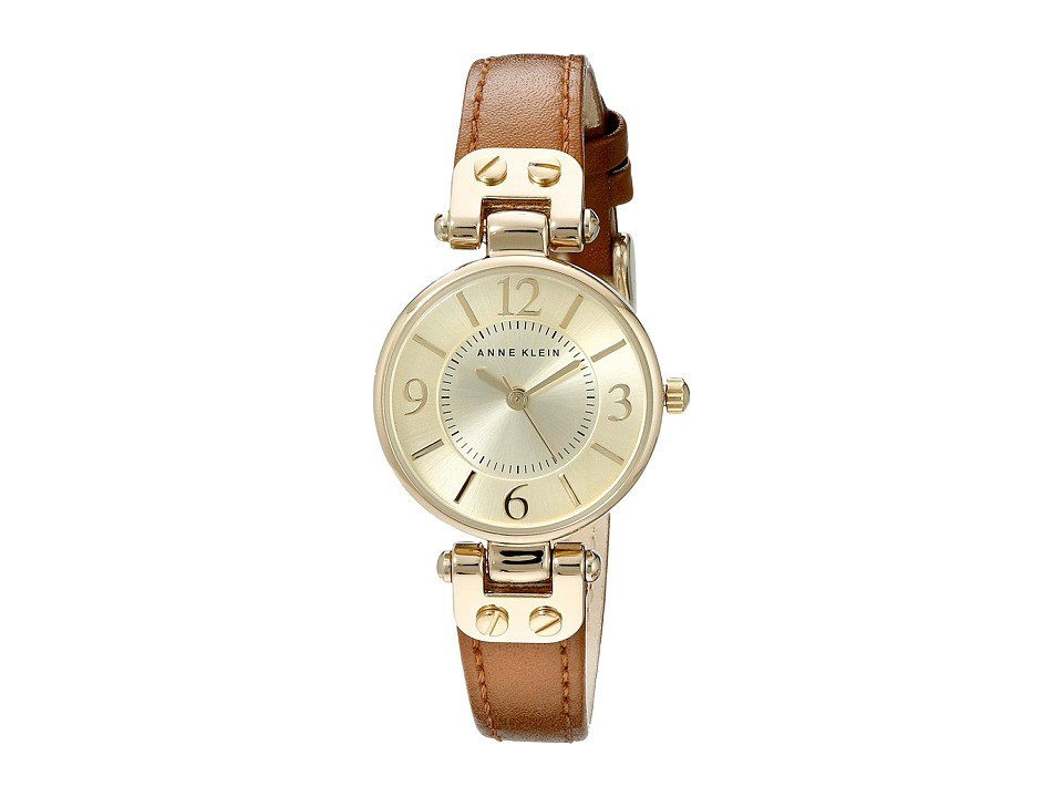 Anne Klein - 10-9442CHHY (Honey/Gold) Watches
