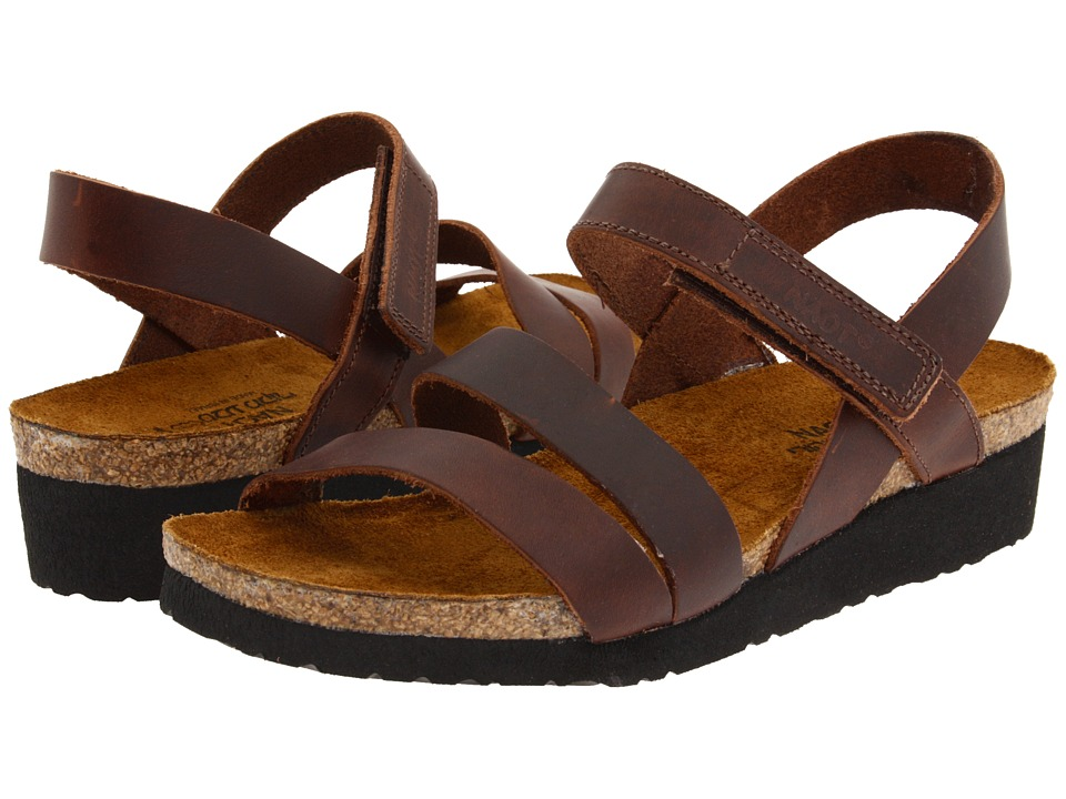 Naot Footwear Kayla (Buffalo Leather) Sandals