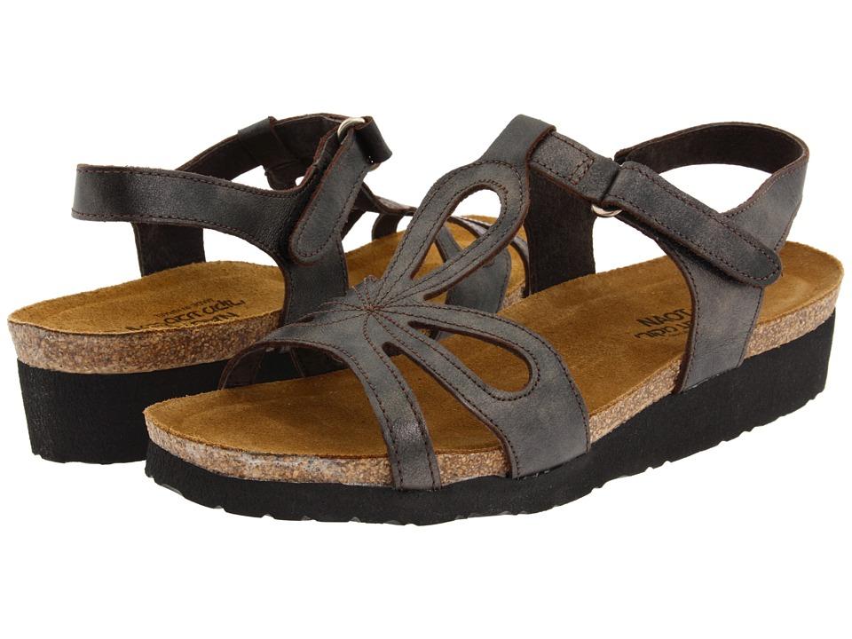 Naot Footwear - Rachel (Black Pearl Leather) Women