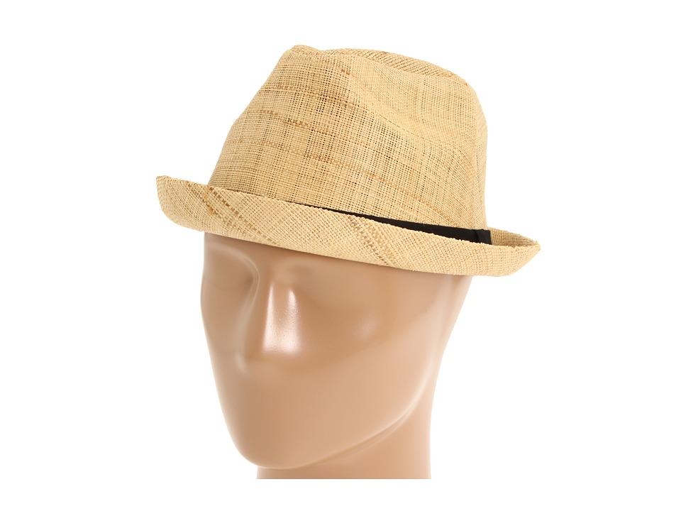 San Diego Hat Company - RHF602 (Natural) Fedora Hats