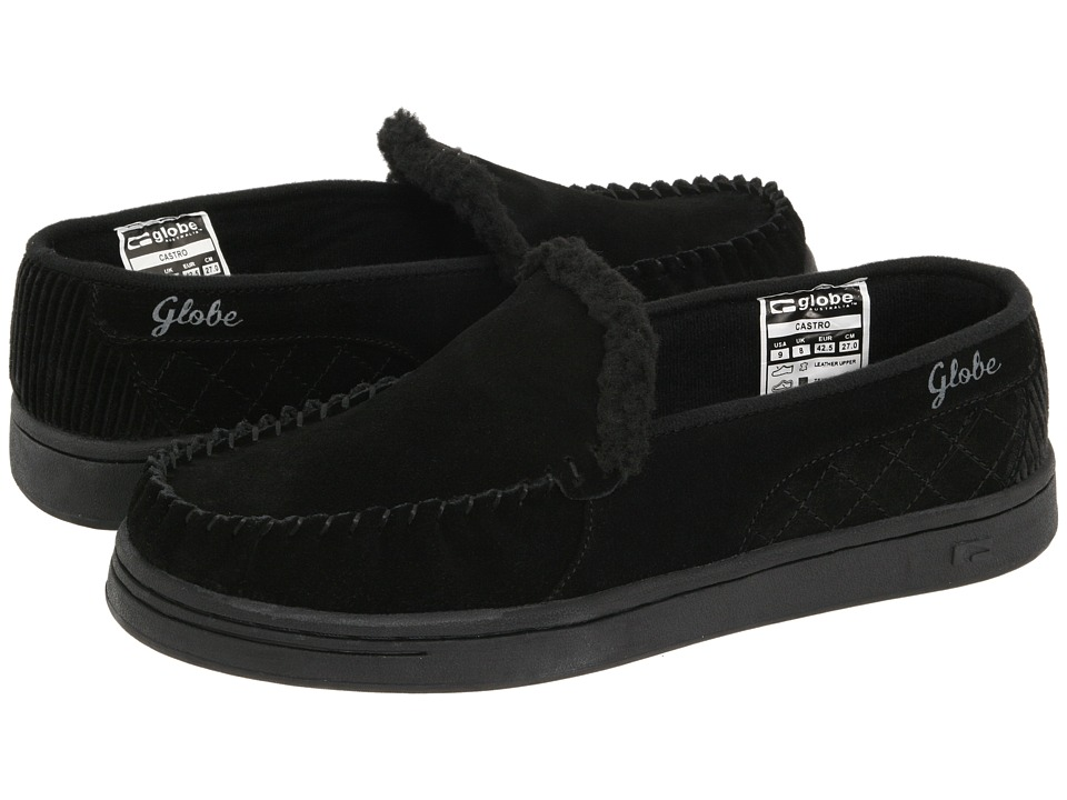 Globe - Castro (Black/Charcoal) Mens Skate Shoes