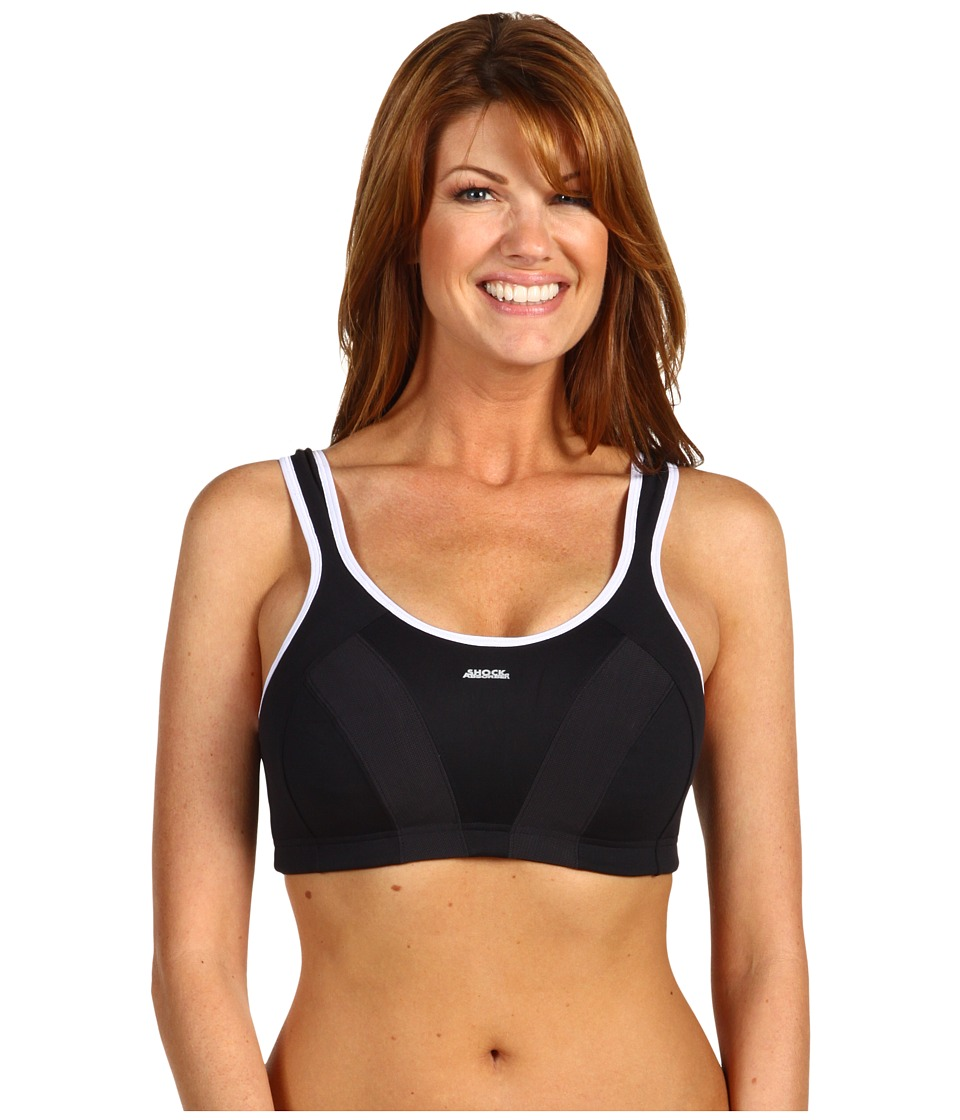 Shock Absorber Max Sports Bra B4490 Black/White Womens Bra