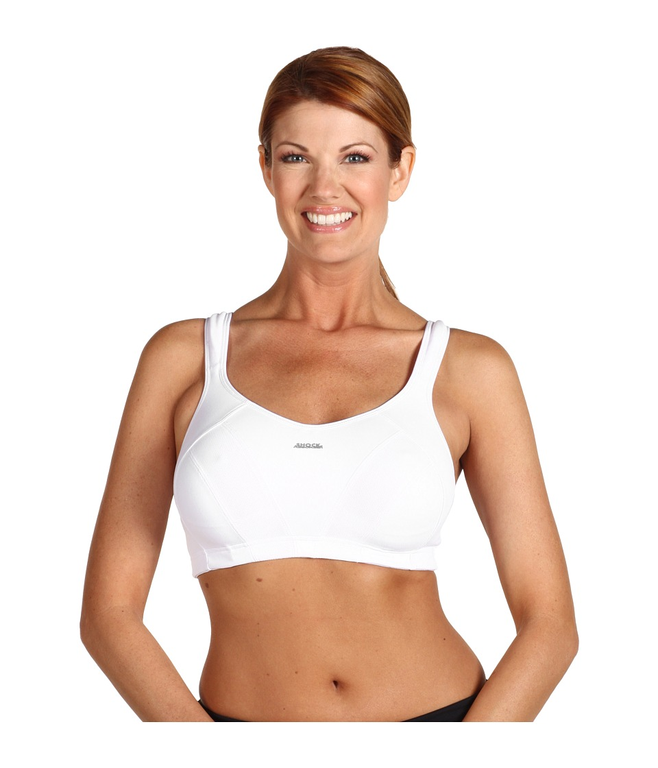 Shock Absorber Max Sports Bra B4490 White Womens Bra