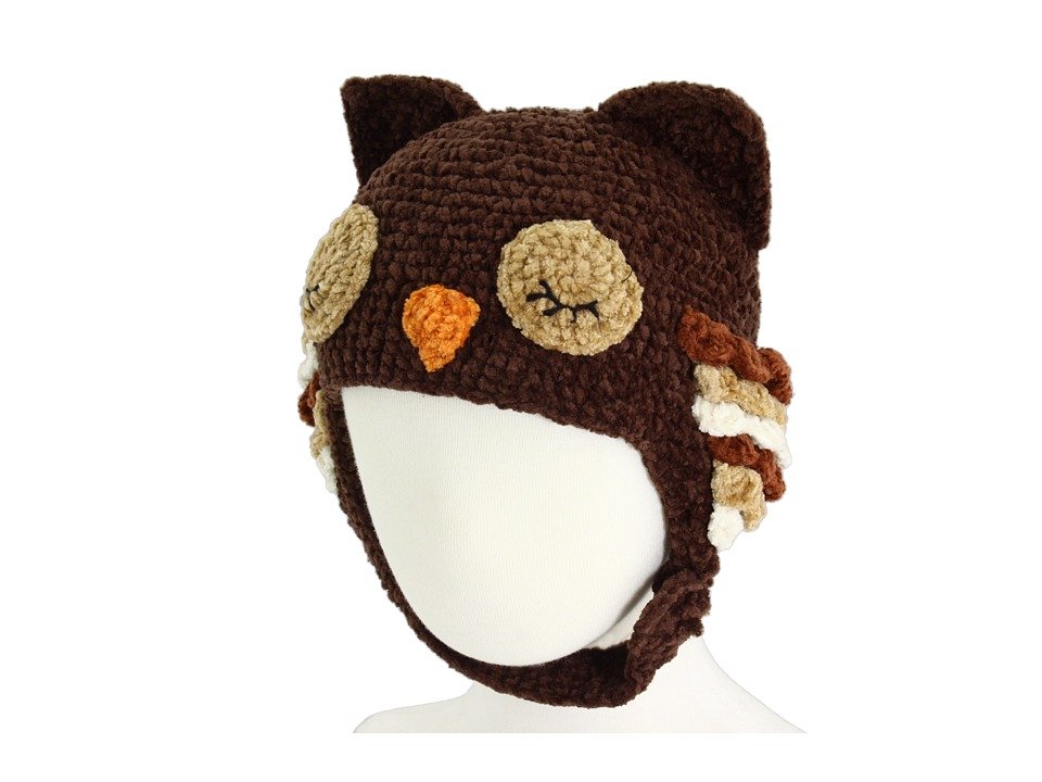 San Diego Hat Company Kids - DL2428 Knit Owl (Infant/Toddler/Little Kids) (Sleeping Owl) Knit Hats