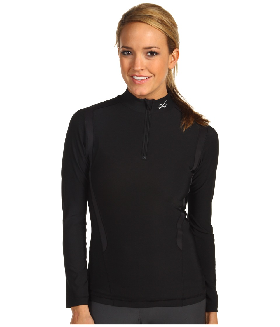 CW X Insulator Web Top Black Womens Workout