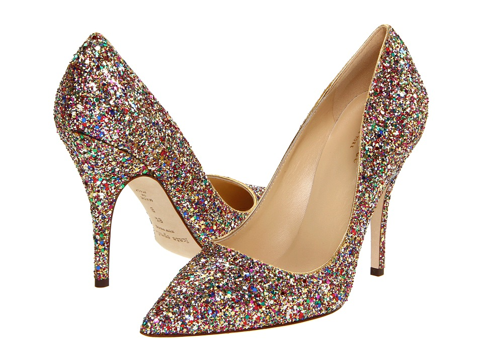 Kate Spade New York - Licorice Too (Licorice Too Multi Glitter) Women's Slip-on Dress Shoes