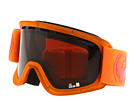 Dragon Optical - Lil D (Youth) (Matte Tangerine/Eclipse) - Eyewear