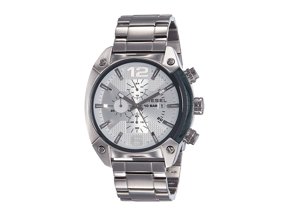 Diesel - Men's DZ4203 Advanced Watch (Silver) Analog Watches