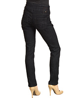Jag Jeans Petite - Petite Peri Pull-On Straight in Black Rinse