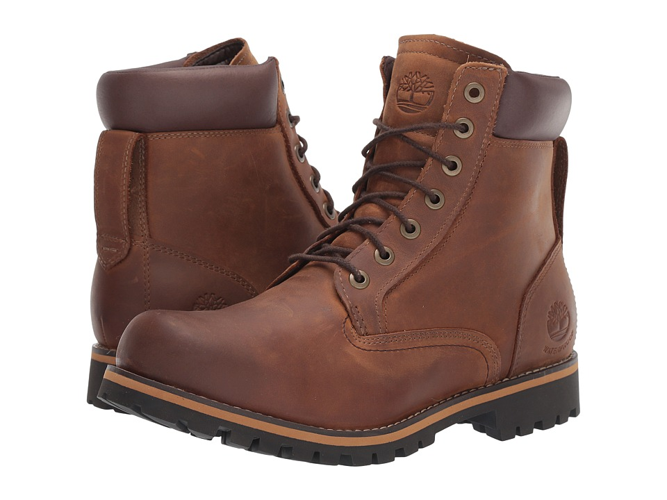 Timberland Earthkeepers Rugged 6 Boot (Red Brown / Copper Roughcut) Men