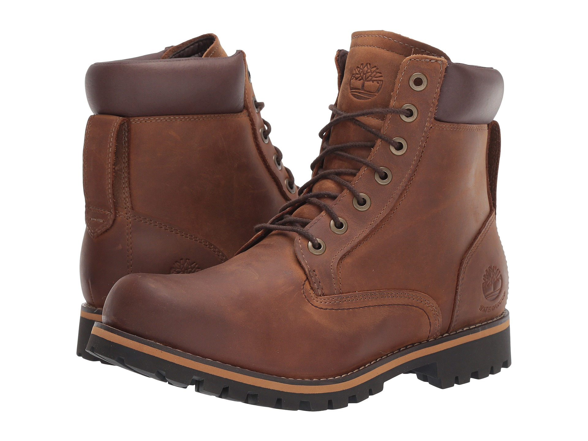 Timberland Earthkeepers Rugged 6 Waterproof Plain Toe Boot