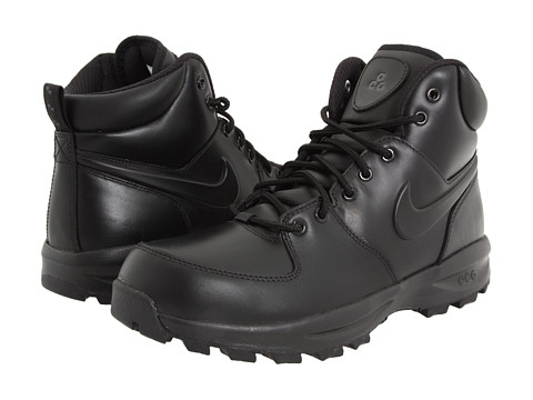 Nike Manoa Leather - Black/Black/Black