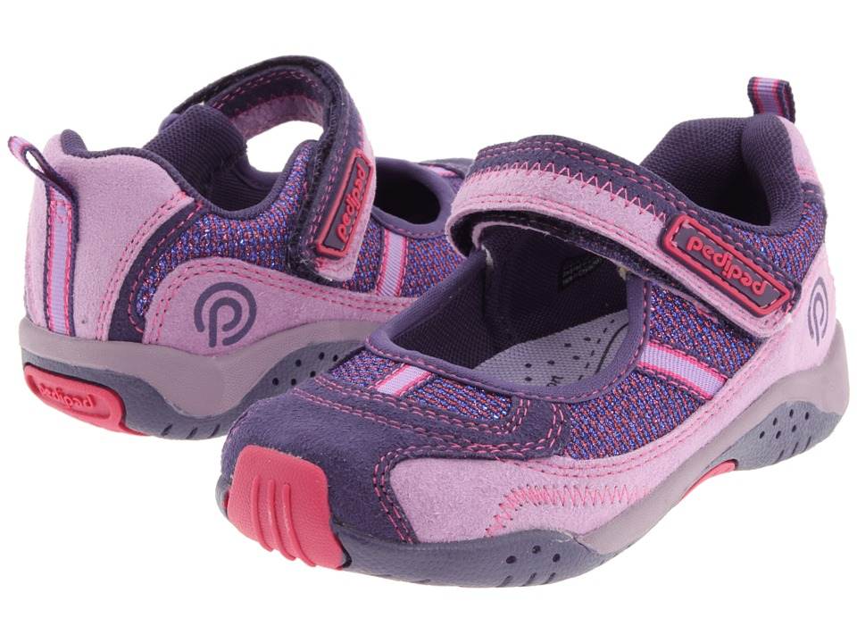 pediped - Dakota Flex (Toddler/Little Kid) (Purple) Girls Shoes