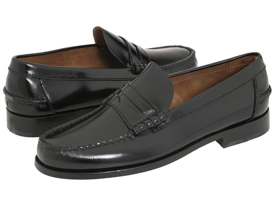 Florsheim Berkley Penny Loafer (Black) Men's Slip on  Shoes