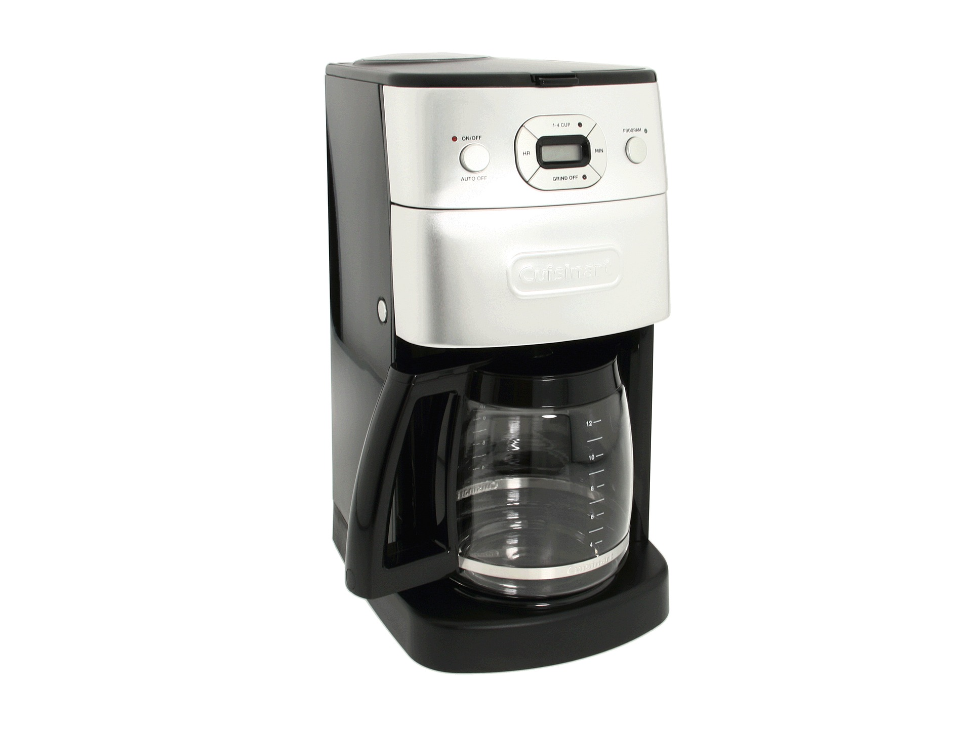 Cuisinart Automatic Grind And Brew Coffee Maker Problems : Cuisinart DGB-625BC Grind & Brew 12-Cup Coffee maker Black/Brushed Metal - Zappos.com Free ...