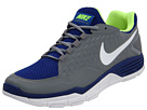 Nike - Free Xilla TR (Grey/Drenched Blue/Volt/White) - Footwear
