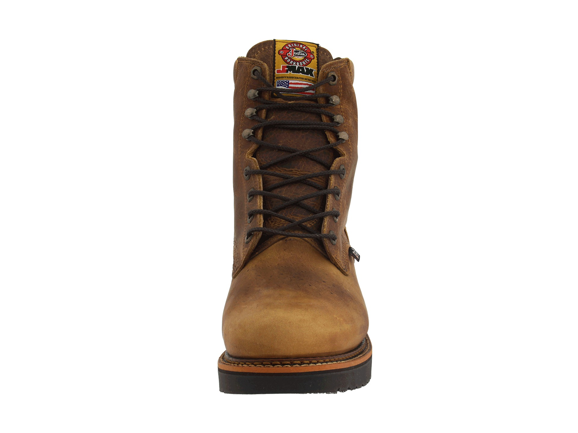 """Justin 440 8"""" Lace Up Work Boot - Zappos.com Free Shipping BOTH Ways"""
