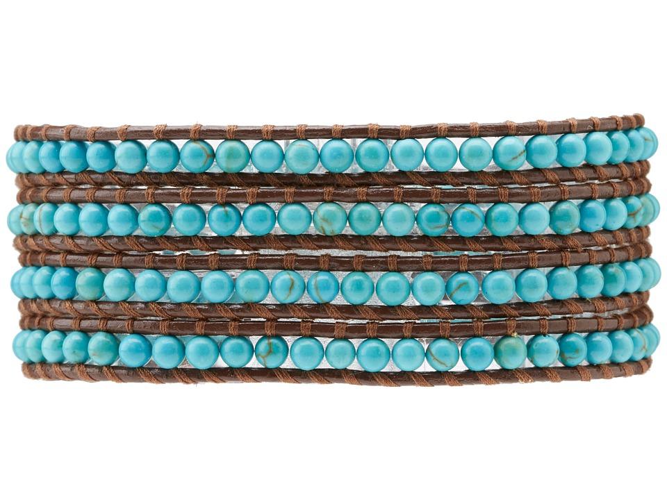 Chan Luu - Semiprecious Stone Wrap Bracelet  Bracelet