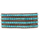 Semiprecious Stone Wrap Bracelet