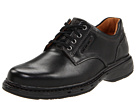Clarks - Un.Centre (Black Leather) - Clarks Shoes