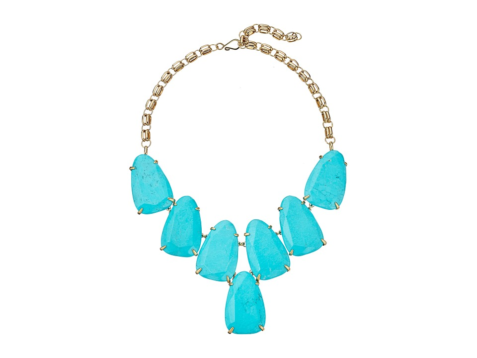 Kendra Scott Harlow Necklace (Turquoise) Necklace