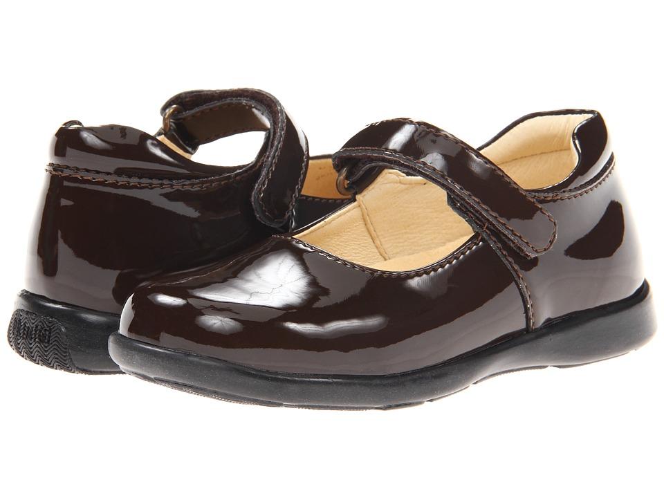 Primigi Kids Andes FW11 Toddler Brown Patent Girls Shoes