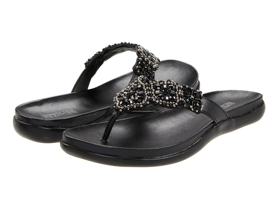 Kenneth Cole Reaction Glam-athon (Black) Sandals