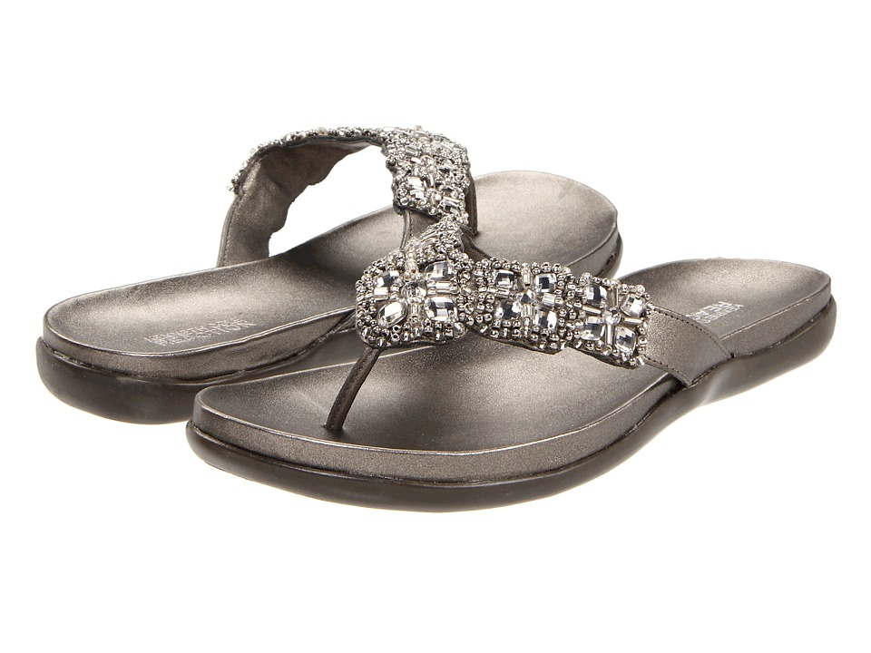 Kenneth Cole Reaction Glam-athon (Pewter) Sandals