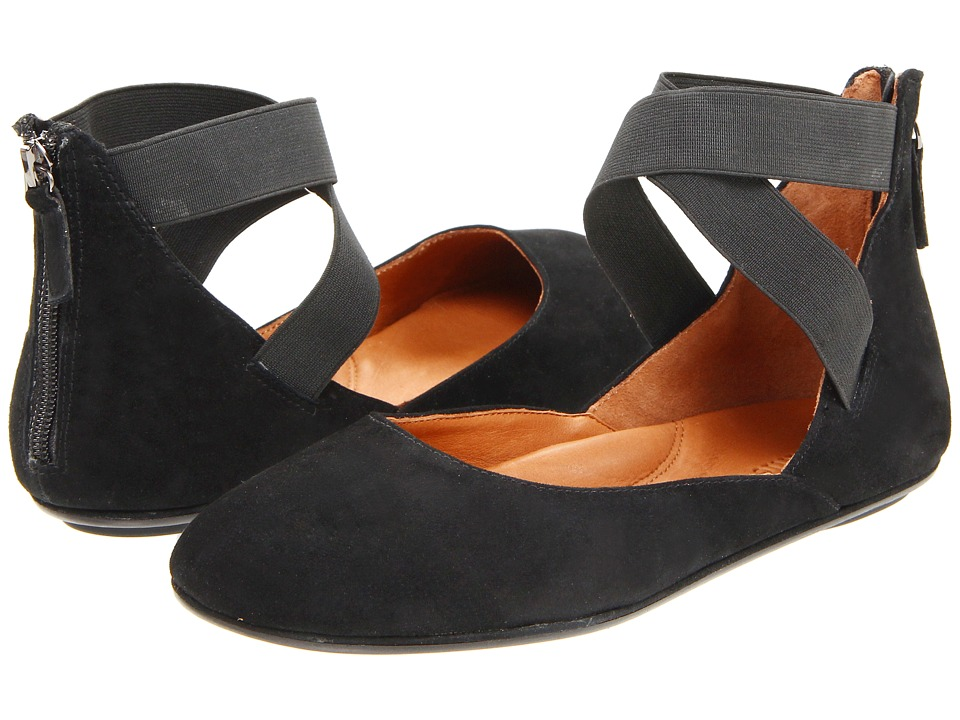 Gentle Souls by Kenneth Cole Bay Unique (Black Suede) Flats