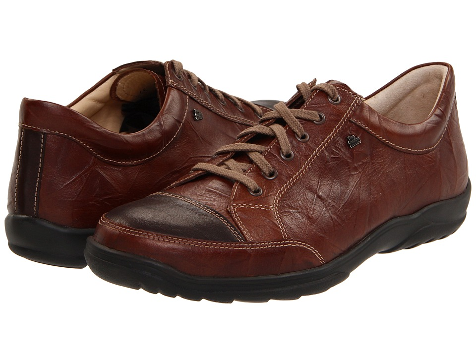 Finn Comfort Alamo 1288 Cigar Mens Lace up casual Shoes