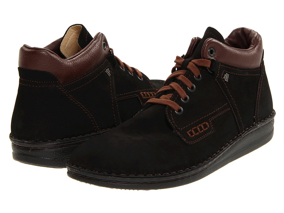 Finn Comfort Linz 1008 Black/Brown Mens Lace up casual Shoes