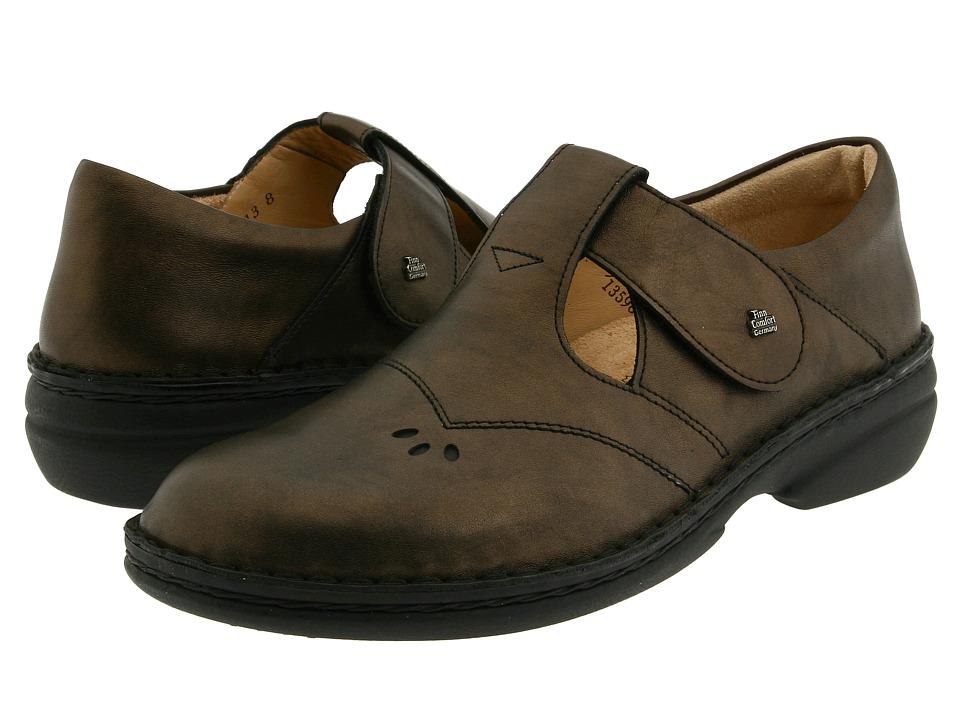 Finn Comfort Nashville 82054 Cigar Luxor Womens Slip on Shoes